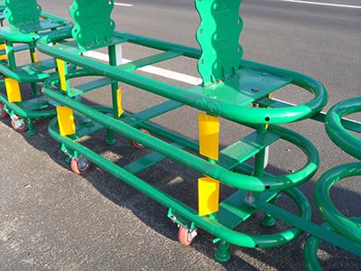 立体折叠护栏