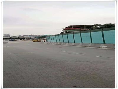 广州环城高速公路连接线声屏障工程,于2018年11月30号完工